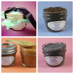 Homemade Body Scrubs - need to read all the ingredients. Not so keen on what sugar does to my skin.