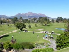 Stellenbosch Golf Club has already celebrated its centenary, but it was only in 1953 that it grew from a 9-hole course into 18 holes. It has a championship layout that has hosted many prestigious tournaments in the past.
