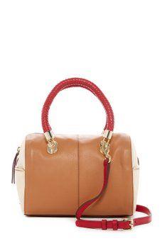 43f964f417 Cole Haan - Benson Small Leather Barrel Satchel Petite Fashion Tips
