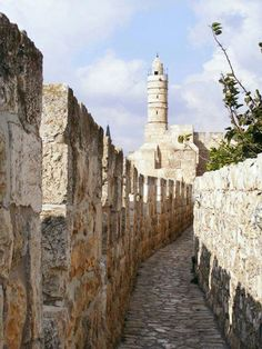 Jerusalem walking the walls is a great way to get a different view of the old city.