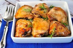 Une recette de poulet super facile avec une délicieuse marinade à l'érable bien de chez nous!