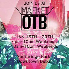 Happy weekend! We are here until 10pm tonight #mydsf #dsfmarketotb #marketotb #dsf #southridge #downtown #businessbay #shopping #popup #dubaievents #monroeandme #dubai #mydubai #uae