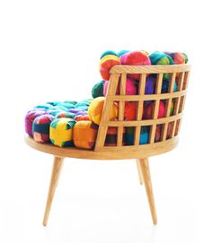 Cheery Recycled Silk Chairs From Meb Rure in style fashion home furnishings  Category