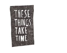 these things take time  A4 giclée art print by reneedotanne, $30.00