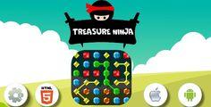 Treasure ninja-HTML5 Game +Construct 2 - CAPX