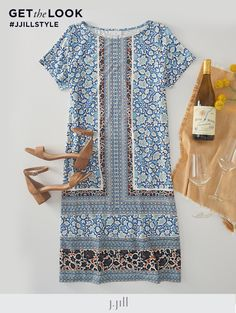 Printed Maxi Skirts, Simple Shirts, Asymmetrical Dress, Comfortable Outfits, Boho Chic, What To Wear, Late Summer, Clothes For Women, Work Outfits