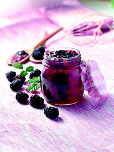 Cet été, réalisez votre confiture de mûres ! (Make your own blackberry jam)