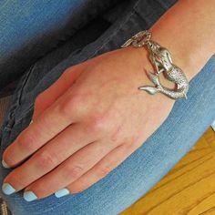 Meerjungfrau-Armband  Mermaid Schmuck nautische von MyLimoIsWaiting