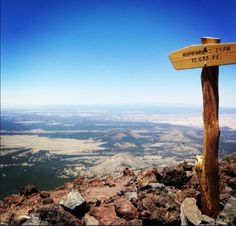 Humphreys Peak is the highest natural point in Arizona, 12,637'  & is located within the Kachina Peaks Wilderness in the Coconino National Forest, about 11 miles north of Flagstaff, Arizona.