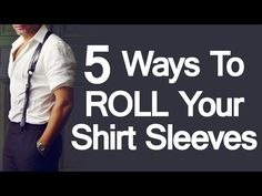 There's a serious contradiction of intention when a man rolls up his shirt sleeves.  Is he getting ready to fight?  Or is he relaxing at the end of a hard day?  Or is he getting serious and down to business?  Or.... is he just cooling off?  Historically men have rolled up their shirt sleev