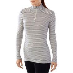 Women's NTS Mid 250 Pattern Zip T (wool base layer)