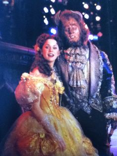 Susan Egan and Terrence Mann in Beauty and the Beast on Broadway Broadway Costumes, Musical Theatre Broadway, Broadway Shows, Disney Beast, Disney Beauty And The Beast, Terrence Mann, Susan Egan, Lin Manuel Miranda, Phantom Of The Opera