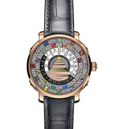 Montre Escale Wordltime à multiples fuseaux horaires de Louis Vuitton Horlogerie