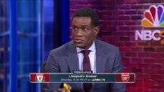"""It's a bigger match for Liverpool than Arsenal"" - NBC expert Robbie Earle runs the rule over a big clash on a big Premier League weekend..."
