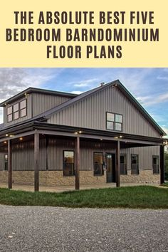 Barn Homes Floor Plans, Metal House Plans, Bedroom Floor Plans, Barn House Plans, Dream House Plans, House Floor Plans, Ranch Home Floor Plans, Metal Building Homes, Building A House