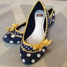 265c9ad18786 P for Polka Dots Womens Ballet Flats Casual Ballerina Shoes Work or Play  Casual Comfort Shoes