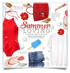 """Summer Loving"" by suzanne228 ❤ liked on Polyvore featuring J.Crew, Yosi Samra, MANGO, Sensi Studio and Estée Lauder"
