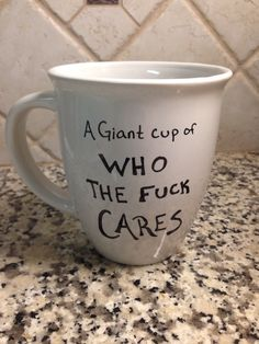 Funny coffee mug by CrazySmorgasbord on Etsy, $7.00