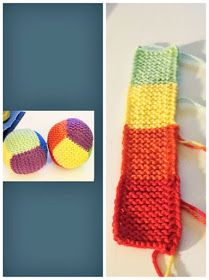 Baby Mittens Knitting Pattern, Knitted Flower Pattern, Knitted Flowers, Beginner Knitting Projects, Knitting For Beginners, Easy Knitting, Knitting Ideas, Quick Knits, Toy Craft