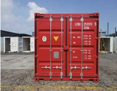 Shipping containers for sale at great prices, deals available on shipping containers of all sizes, new and used shipping containers for sale! 40ft Shipping Container, 40ft Container, Shipping Containers For Sale, Container Cabin, Cargo Container, Container House Plans, Container Conversions, Storage Facility, Modular Design