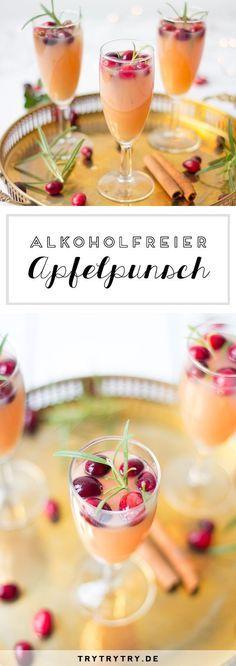 Alkoholfreier Apfelpunsch