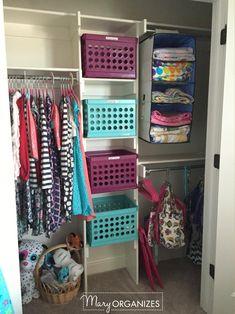 Girls Room Tour - 5 Closet