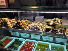 Olives Galore:  Mercado San Miguel, Madrid SP