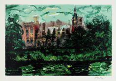 John Piper 'Kelham', 1977 © The Piper Estate