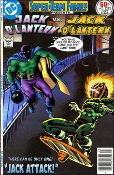 Super-Team Family: The Lost Issues!: Jack O'Lantern Vs. Jack O'Lantern