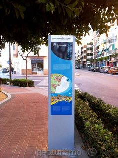 Proyecto de Señalización Interpretativa urbana en El Campello (Alicante) http://geoturismoweb.com/