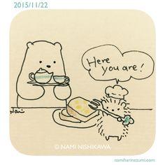 678 サツマイモのケーキ、どうぞ召し上がれ! Sweet potato cakes . Here you are.