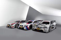 Audi A5 DTM, BMW M3 DTM, DTM AMG Mercedes C-Coupé