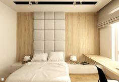 Sypialnia - Styl Minimalistyczny - design me too