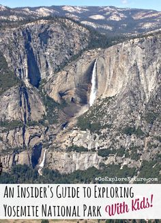 An Insider's Guide to Exploring Yosemite National Park With Kids - There are lots of things to do with kids in Yosemite National Park. Get tips and advice on where to go and what to do in Yosemite Valley and beyond. Camping In England, Camping In Ohio, Yosemite Camping, California Camping, Southern California, Yosemite Vacation, Yellowstone Vacation, Camping Cabins, Camping Trailers