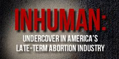 Live Action - Pro-life advocacy for dignity and human rights - A new media movement for life!   And they say partial abortions don't happen yet they do very day in the Bronx !!!!!!