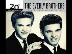 Today 2-17 in 1960: The Everly Brothers leave the small Cadence record label to sign a ten-year million-dollar contract with Warner Brothers. Their first hit right out the door on their new Warner Brothers label was this one - 'Cathy's Clown.'