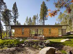 Fish Creek Compound Guest House - Contemporary - Exterior - Salt Lake City - Carney Logan Burke Architects