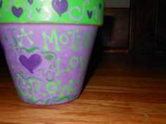 Handpainted Mother's Day Pot