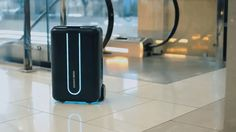 The Best Friend of Adventure: Revolutionary Autonomous Robot Suitcase Makes Traveling Much Easier with Style.
