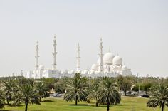 Sheikh Zayed Mosque by marin.tomic, via Flickr