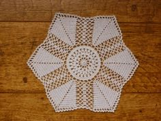 Yellow, Pink and Sparkly: Garden Paths Doily