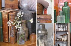 Caroline Zoob. A selection of French and English decorative antiques and vintage items for the home and garden.