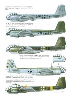 Junkers Ju-388 Camouflage Schemes