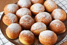 Pancove ardelenesti, Gogosi - Bucătăria Urecheatei Sweets Recipes, Desserts, Pretzel Bites, Food And Drink, Bread, Baking, Healthy, Croatian Recipes, Romania
