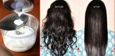 4 Ingrédients Pour Des Cheveux Lisses Sans Fer Ni Chaleur