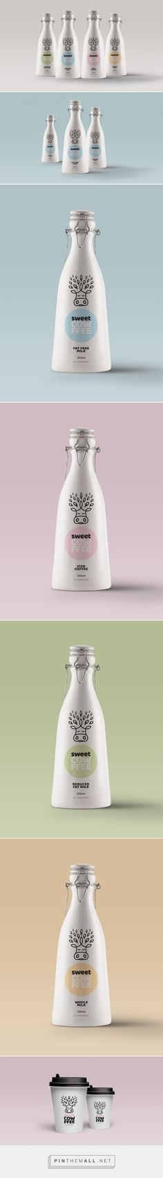 Sweet Cowffee (Concept) - Packaging of the World - Creative Package Design Gallery - http://www.packagingoftheworld.com/2016/11/sweet-cowffee-concept.html