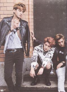 Luhan, Chen, Tao - 140820 First official photobook 'Die Jungs'