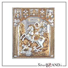 Exact copy of byzantine silver icon depicting Christ Pantocrator. Byzantine, Handmade Silver, Saints, Workshop, Greek, Icons, Traditional, Rugs, Gold