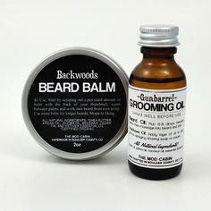 The Mod Cabin Beard Balm Beard Oil Set