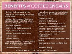 The smartest and most advanced holistic doctors in the world are using and recommending coffee enemas – and you should too. If you want to completely transform your health and heal your body … Holistic Nutrition, Health And Wellness, Health Tips, Food Nutrition, Natural Detox, Natural Health, Natural Life, Herbal Colon Cleanse, Parasite Cleanse